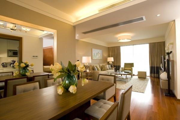 行政双卧室公寓